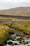 Ribblehead Viaduct with Whernside behind