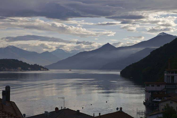 Sunrise on Lake Como