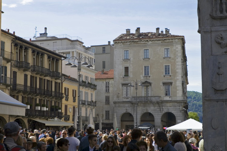 The Piazza in Como