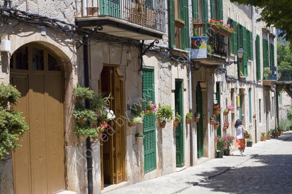 Typical old Mallorcan street