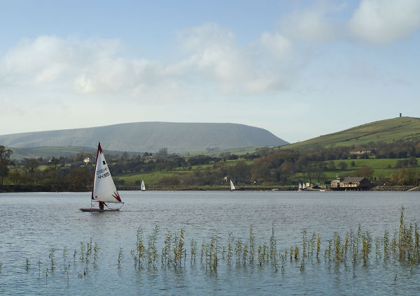 Lake Burwain in Pendle