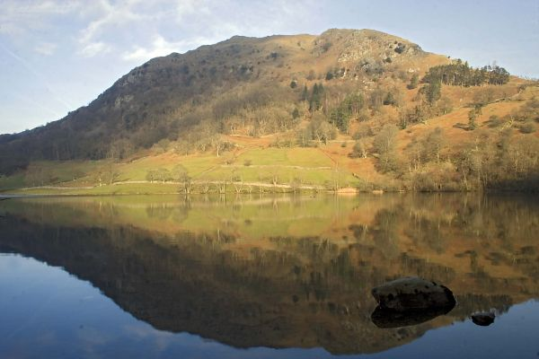 Reflection,Rydal Water,Lake District