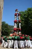 Human tower building at Valdemossa