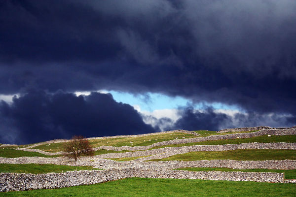 Storm brewing in the Yorkshire Dales