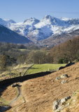 Langdale Pikes from Loughrigg