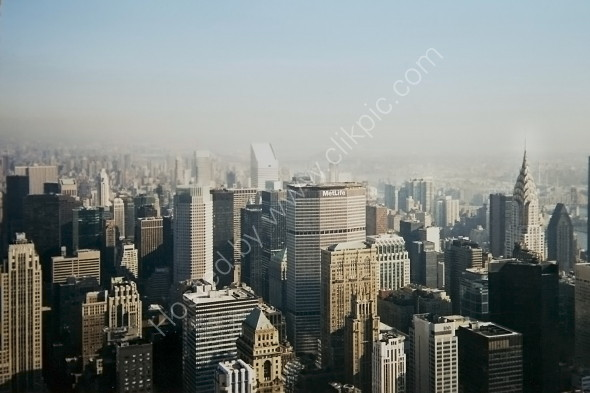 Views from top of Empire State