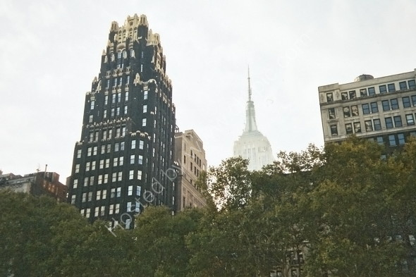 NY Life building with Empire State in background