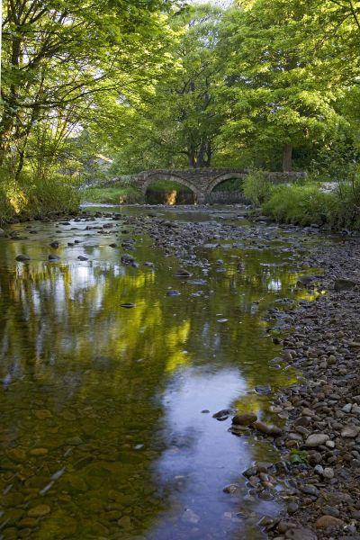 Packhorse Bridge, Wycoller, Pendle, Lancs