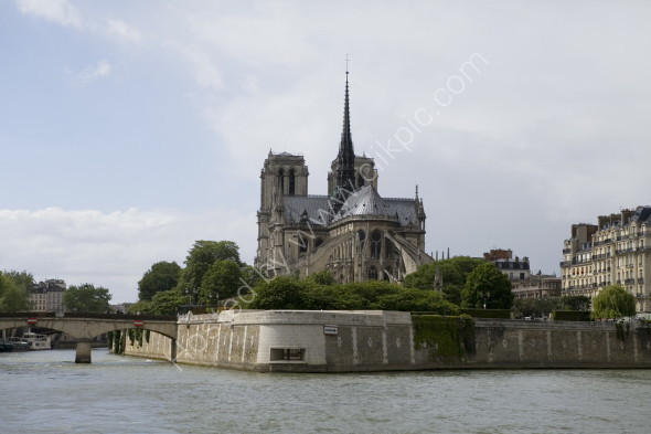 Notre Dame from River Seine