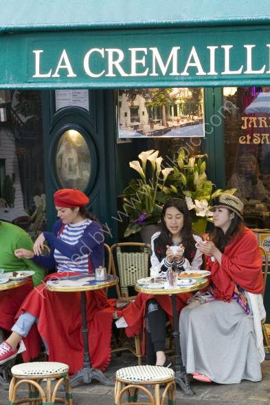 Cafe in Montmartre