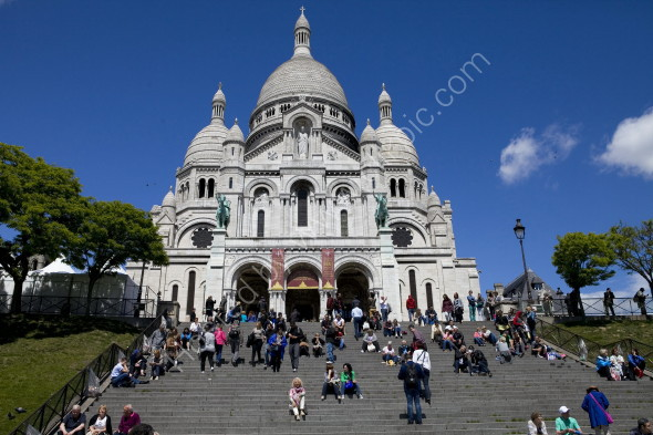 Basilique de Sacre-Coeur in Montmartre