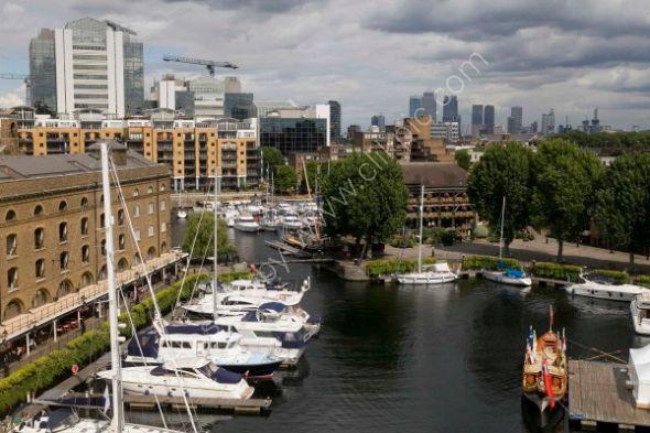St. Katherine's Dock and Royal Barge