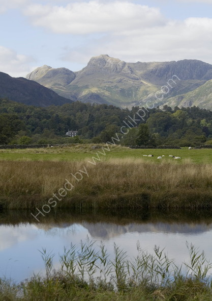 Elterwater and the Langdale Pikes, The Lake District
