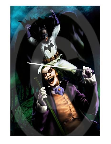Gotham Gaslight Print