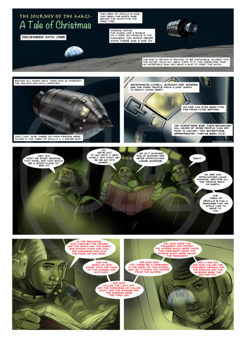 The Journey of the Magi Page 1