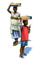 Receiving aid in Tanzania