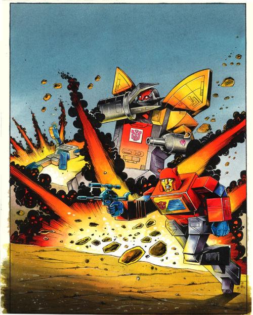 Transformers Comic