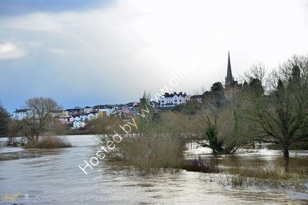 Ross on Wye in Flood