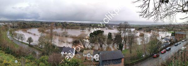 Horseshoe Bend in flood