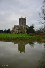 abbey reflection