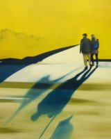 Yellow shadow Oil on canvas 70x60cm - £395