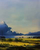 Yellow field - Oil on canvas 70x100cm - £595