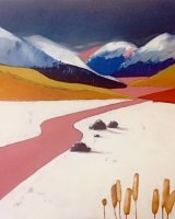 Candy river - Oil on canvas 91x61cm - £695