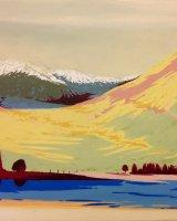 Highland castle - Oil on canvas 15x12cm - £275
