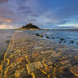 Golden dawn at St Michael's Mount