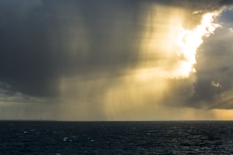 Storm over Longships Lighthouse
