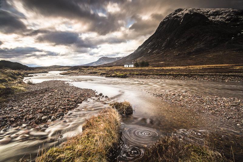 Spiral in the landscape