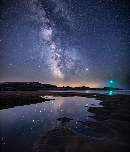 Pool of stars