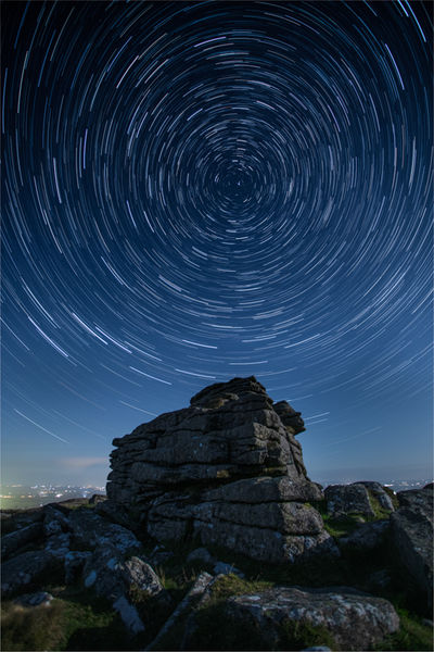 Belstone star trails