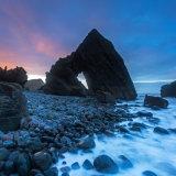 Sunset at Blackchurch Rock