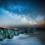 Milky Way over Logan's Rock