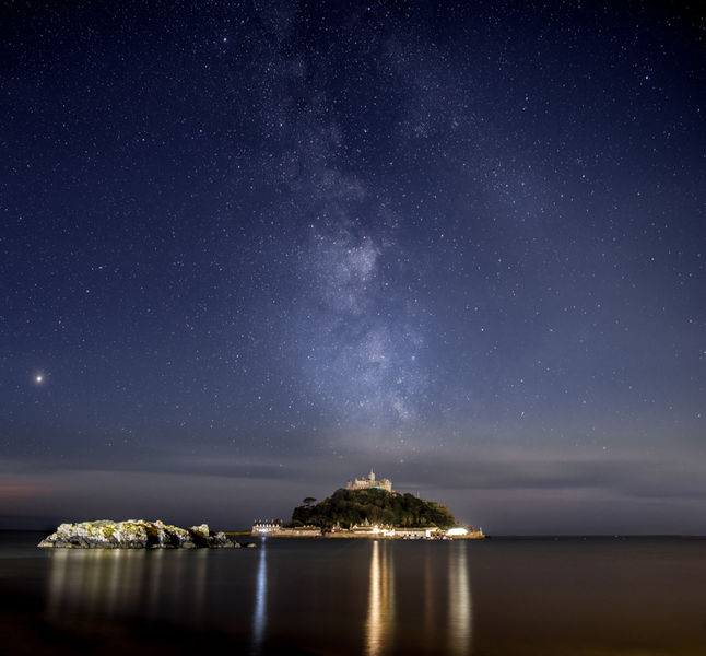 Milky way over Marazion