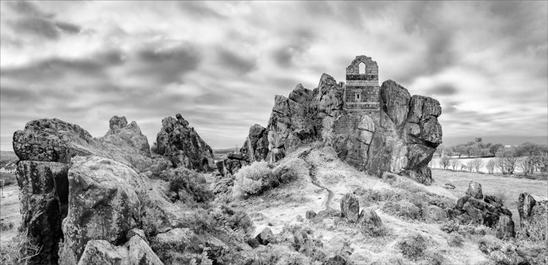 Roche Rock in infrared
