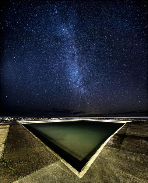 Starlit pool