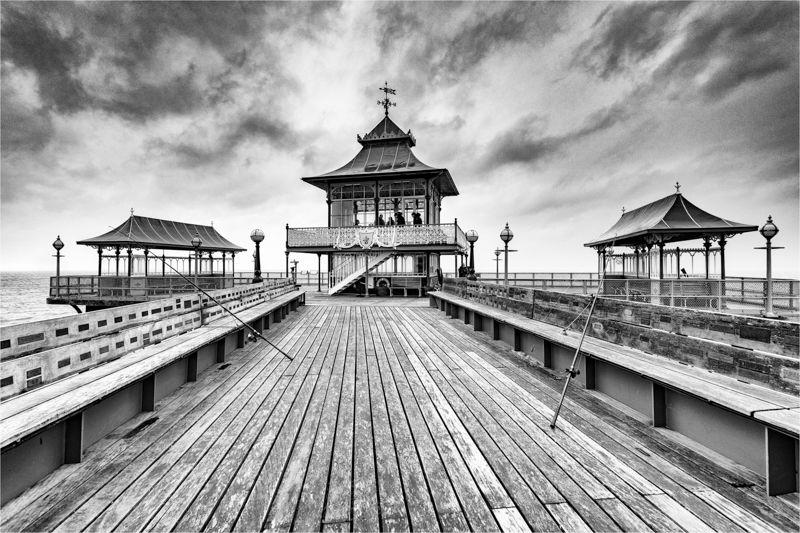 Storm Freya, Clevedon Pier