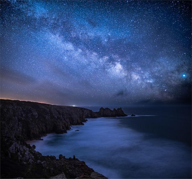 Milky way over PednVounder