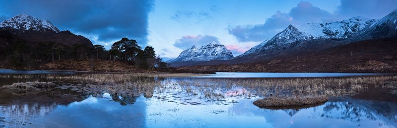First light on Loch Clair