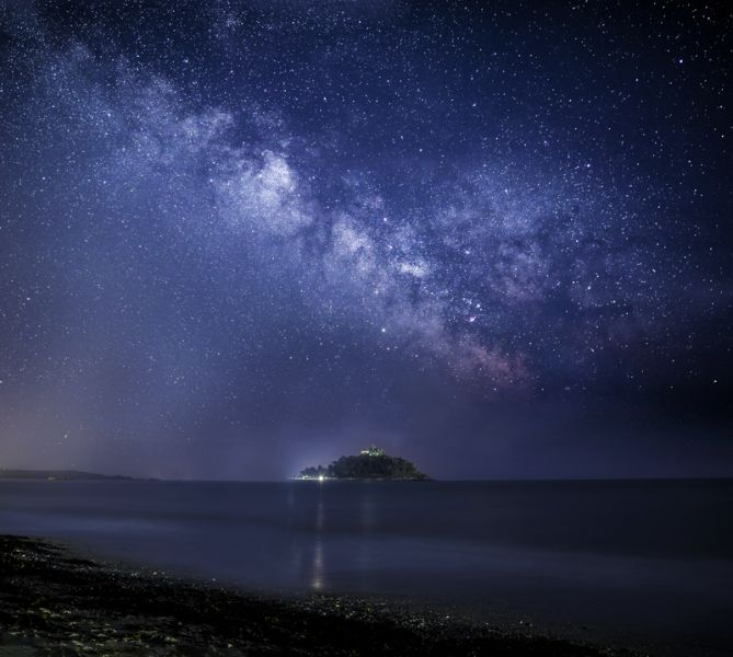 Milky Way over the Mount