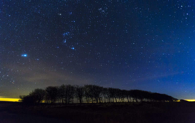 Orion over Exmoor