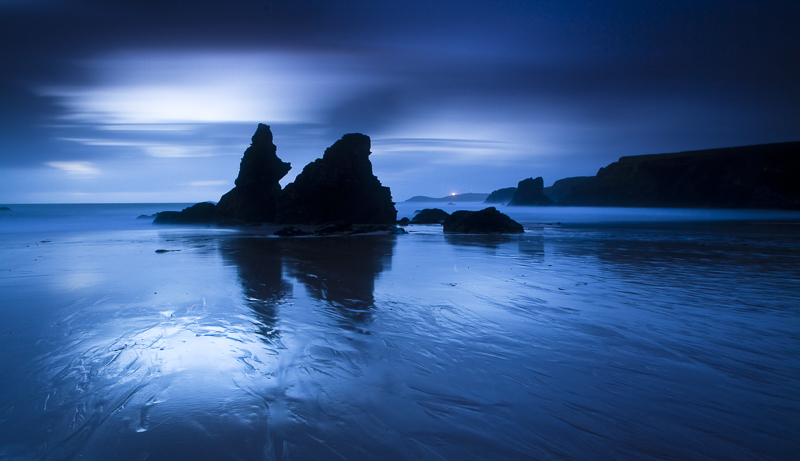 Moonlight at Porthcothan