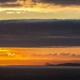 St Michael's Mount at dusk
