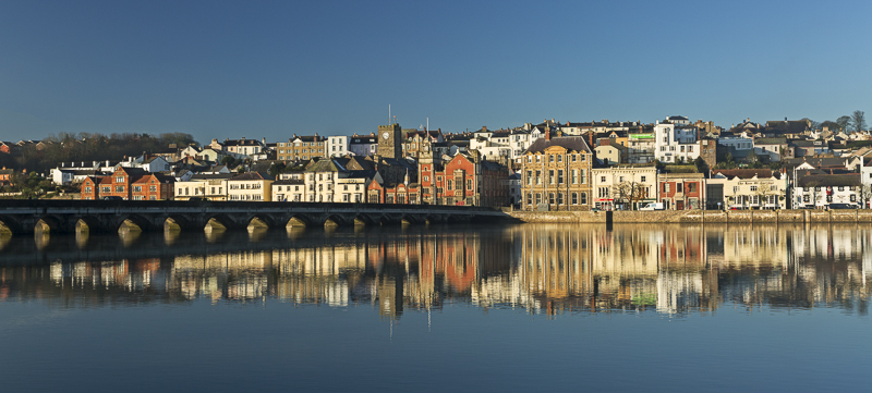 Bideford reflected