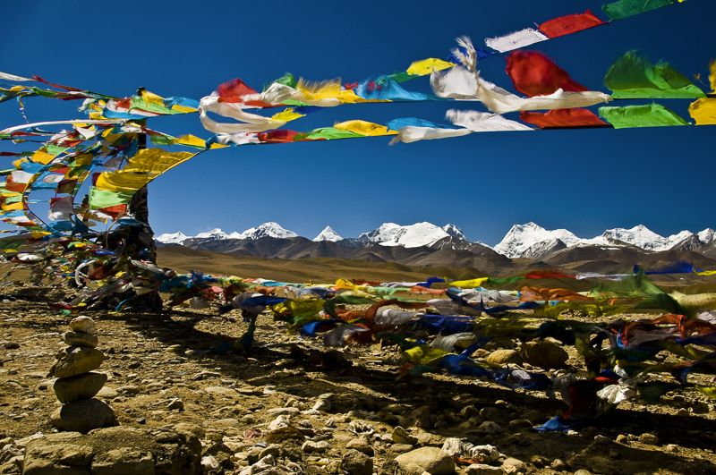 Prayer flags, Tibet