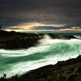Storm surge, Curio Bay