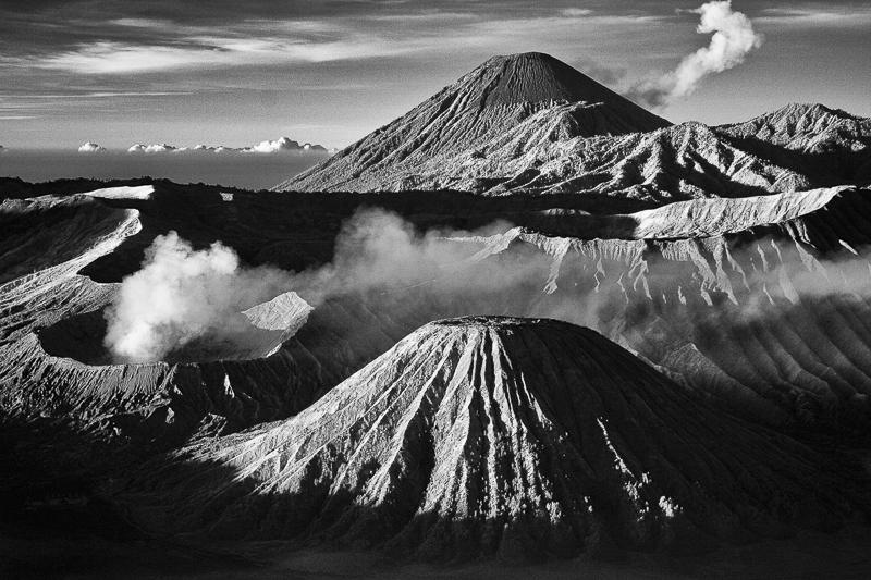 Bromo and Semeru volcanoes