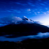 Moonlight on Taranaki